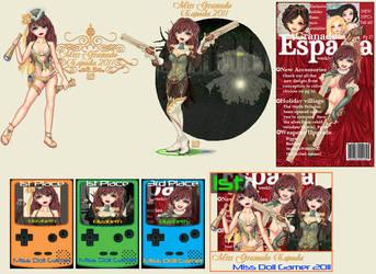 Miss Doll Gamer 2011 by Cherieosaurus