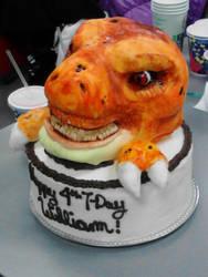 T-Rex Cake by Cherieosaurus