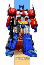 Optimus Prime G1 by gwydion1982