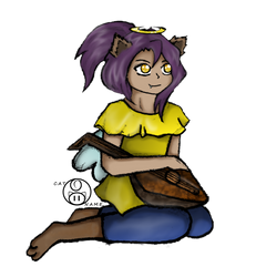Little Lute by catname