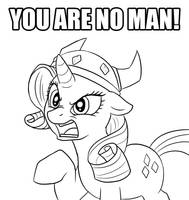 Rarity judges your manhood by c0nker