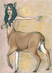 Deertaur by Reta-Rees