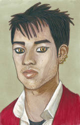 A Portrait of Magnus Bane by Reta-Rees