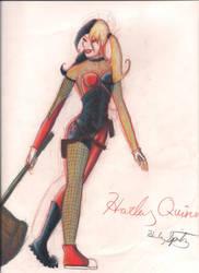 Harley Quinn by golfpophorse