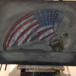 American Angel by golfpophorse
