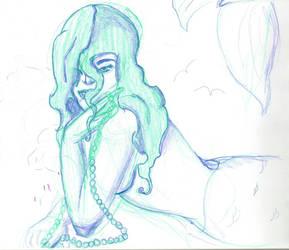 Mermaid by golfpophorse