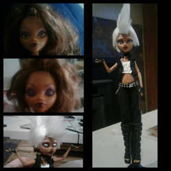 Punk Storm doll by golfpophorse