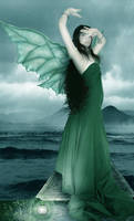 The green fairy by angelrose112