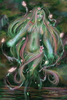 nature elf by angelrose112
