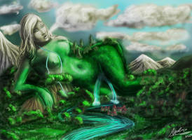 mother natur by angelrose112