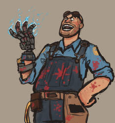 Engie's an adorable little man by TimeLordEnglish
