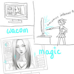 Wacom magic by foolM00N