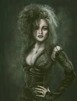 Helena as Bellatrix Lestrange by Acaciacat