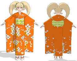 Hiyoko Saionji MMD Edit - Texture DL by Koinu-Yukina