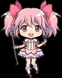 Button Madoka by Koinu-Yukina