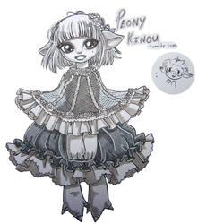 Peony Kinou by Koinu-Yukina
