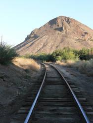 mountain tracks1 by Wicasa-stock