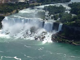 American Falls by AlliCali