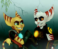 young Kaden and Alister by Daxratchet
