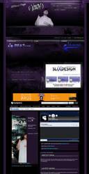a very nice myspace layout by slixdesign
