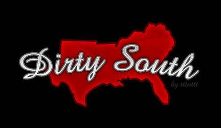 Dirty South Logo Black by slixdesign