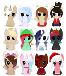 [A] MLP 12 Days Of Christmas (7/12 OPEN!) by TokiiU