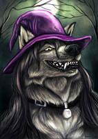 Darkfigure speedpaint portrait by AnsticeWolf