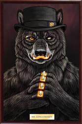 Mr Conglomerate Speedpaint Portrait by AnsticeWolf