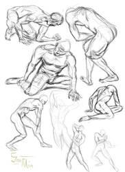 Gesture Practice 5 by HammyDLammy
