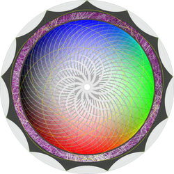 Creation Mandala by crop