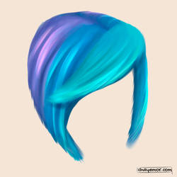 Hair Study by Chayemor