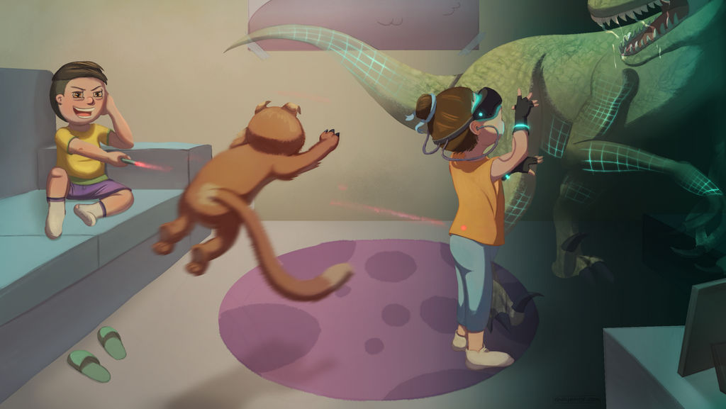 Virtual Reality by Chayemor