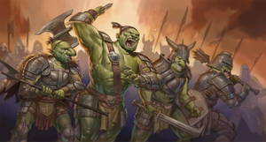 Orc Charge by Benjie-art