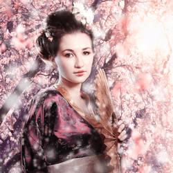 sakura by Selenittt