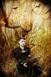 lady in black2 by Selenittt