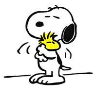 Snoopy and Woodstock by stridzio