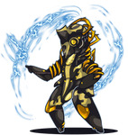 Request: CHIBI Volt prime warframe by DasterCreations