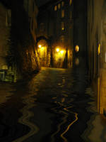 Flooding street by jusuart-stock