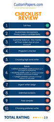 Our Latest Infographic About CustomPapers Writing by bestessayreview