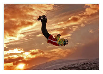 sunset backflip by no-ski-CREW