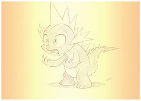 Spiketober 16: Angular by sherwoodwhisper