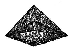 Pyramid Black 'n' White by Blackdogti