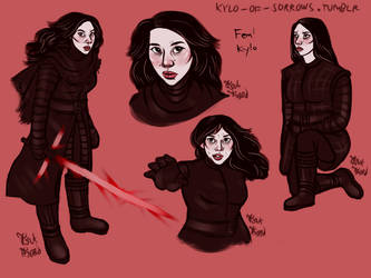 Female Kylo by tsukhood