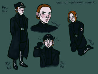 Female Hux by tsukhood