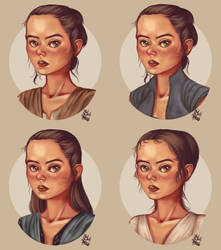 Rey Icons by tsukhood
