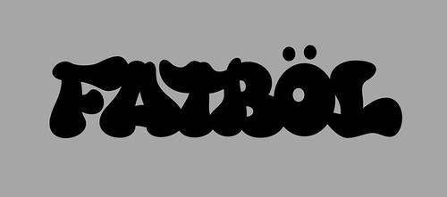 FATBOL Clothing Co. Logotype - Graffiti by bezierwrangler