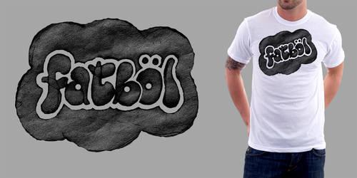 FATBOL Clothing Co. Logotype - Bubbly by bezierwrangler
