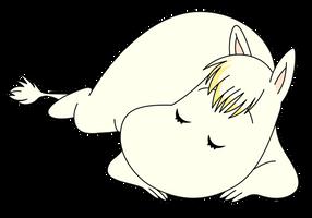 Snork Maiden Sleeping by kol98