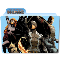 The Uncanny Inhumans by DCTrad