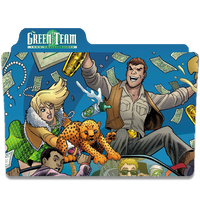 Green Team Teen Trillionaire by DCTrad